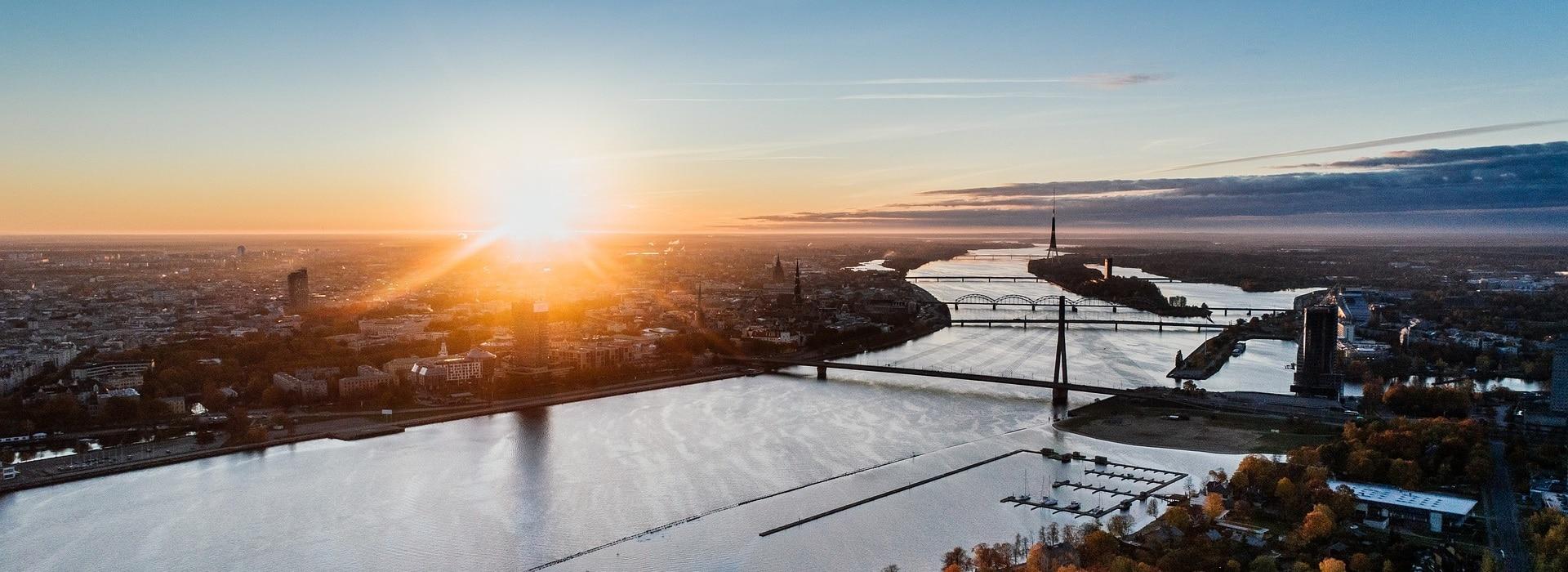 Lettland Header